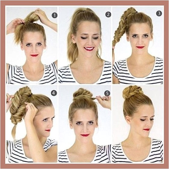 cute quick updos for shoulder length hair
