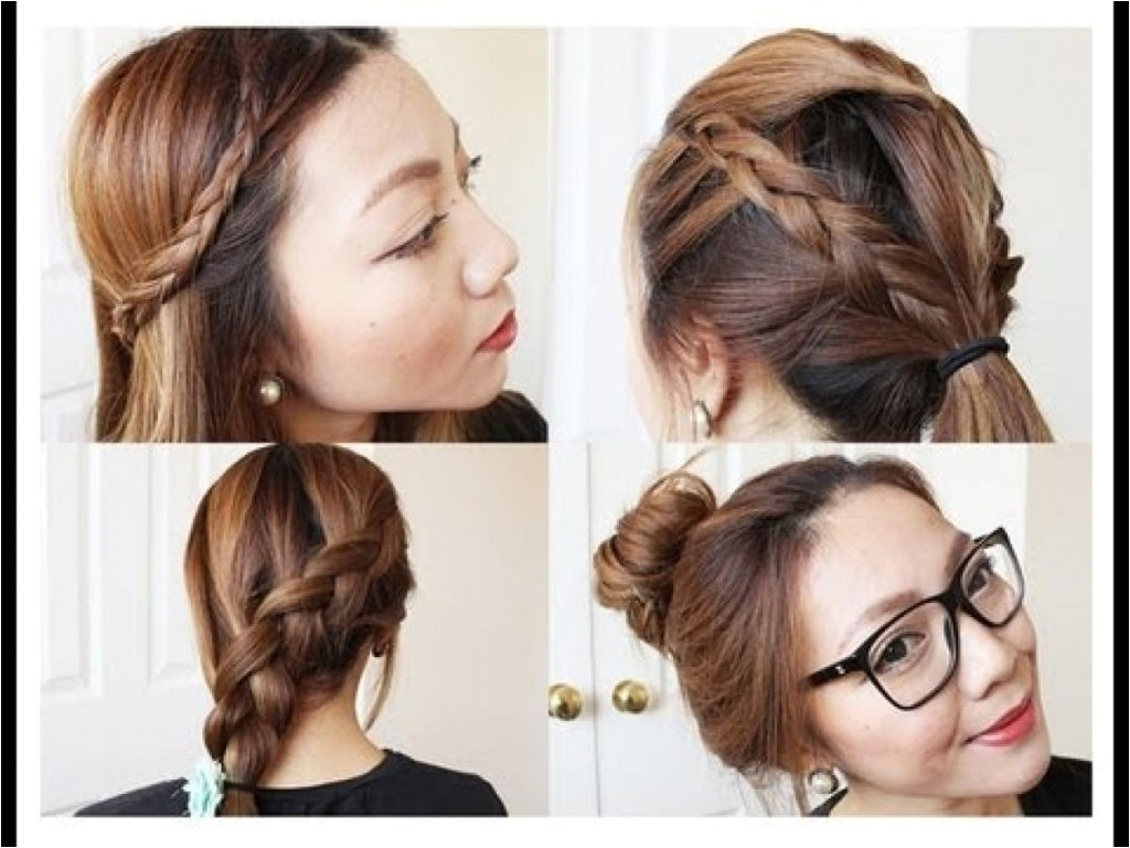 easy hairstyles for layered long hair