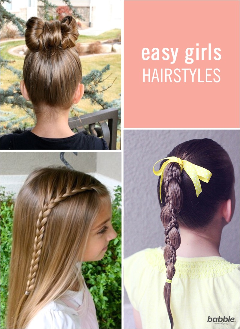 Quick and Easy Hairstyles for Little Girls 6 Quick & Easy Hairstyles for Little Girls
