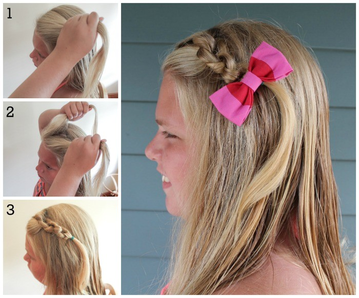 different quick and easy hairstyles for little girls