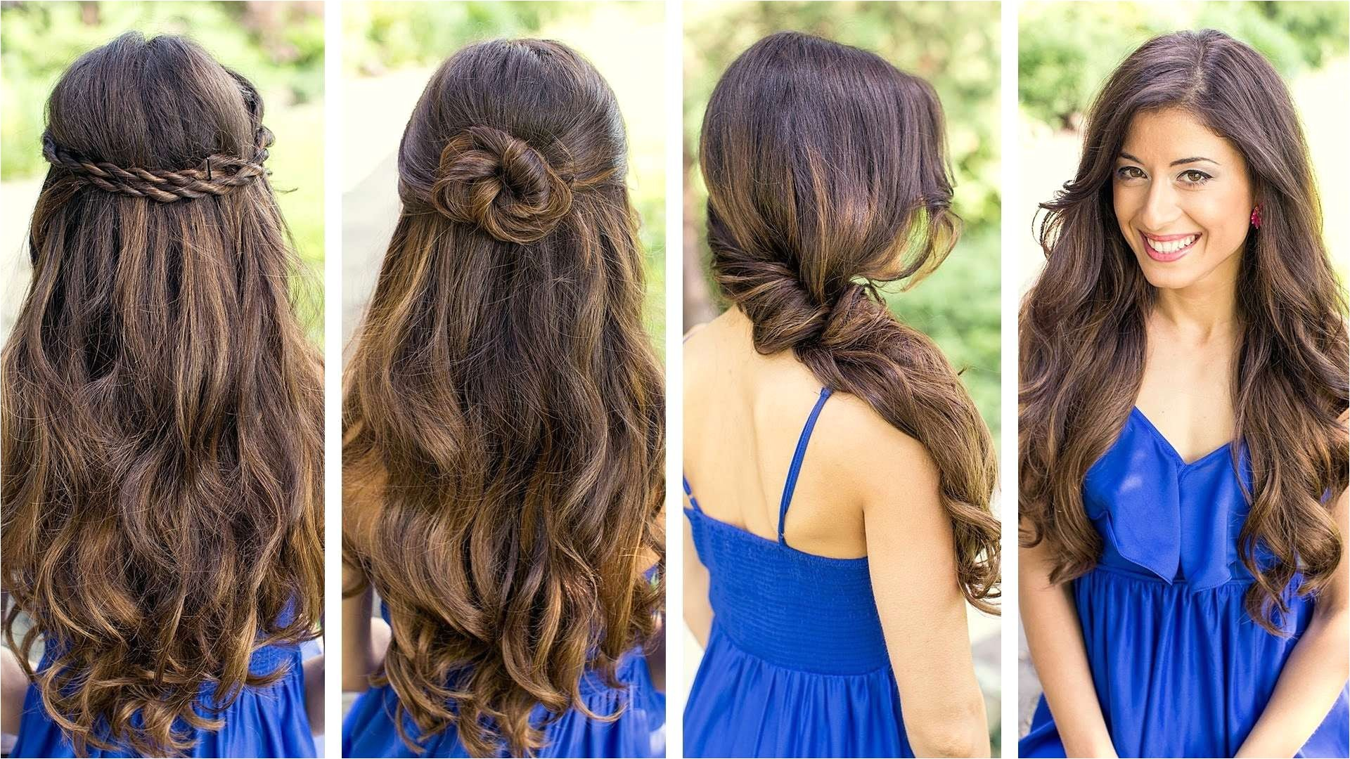 easy and cute hairstyles on youtube