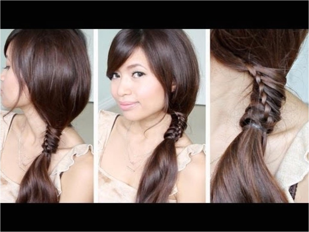easy quick hairstyles for medium hair school
