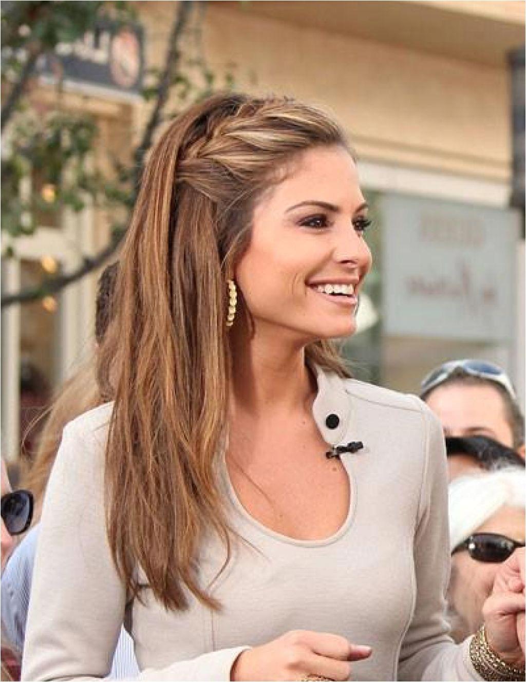 cute easy hairstyles for straight medium length hair