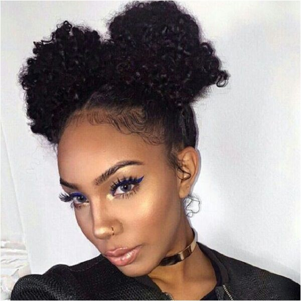 Quick and Easy Hairstyles for Natural Black Hair 1