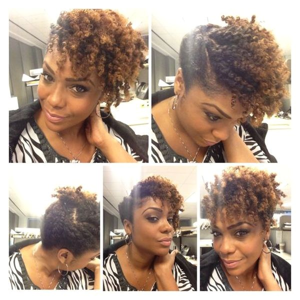 easy hairstyles for natural hair