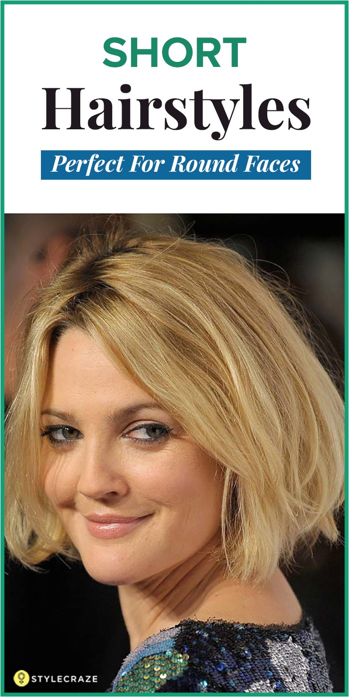 easy to manage short hairstyles for round faces