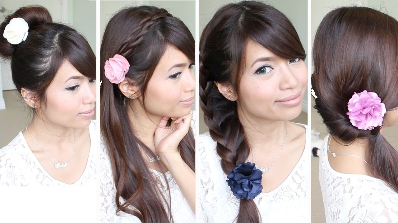 Quick and Easy Hairstyles for School for Medium Hair Quick & Easy Back to School Hairstyles for Medium Long