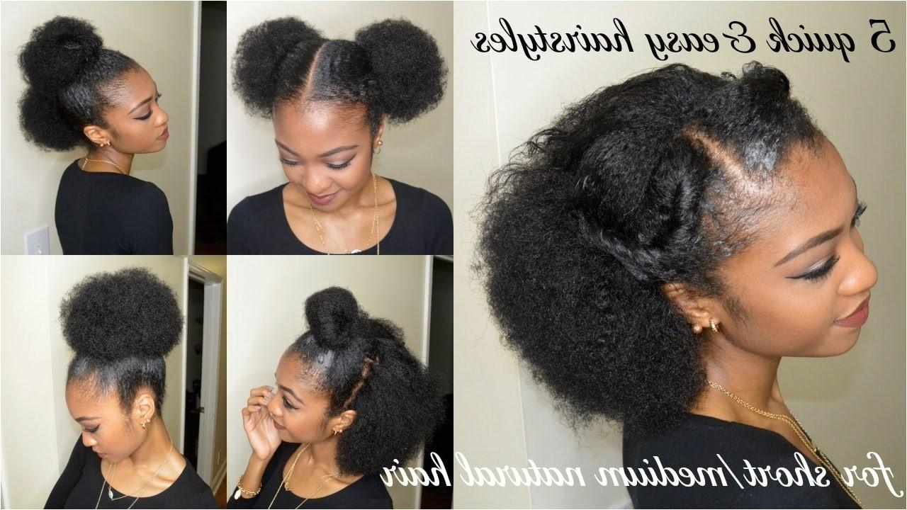 easy hairstyles black hair