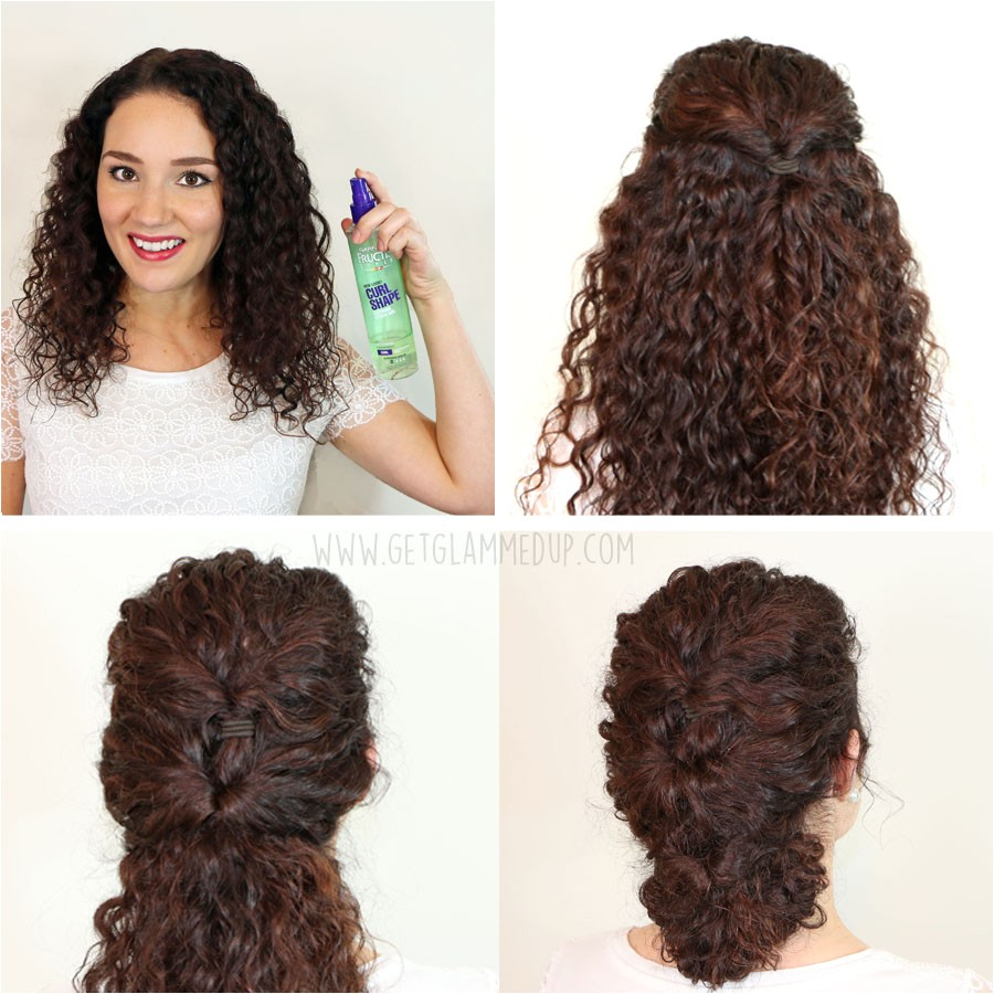 quick and easy hairstyles for curly hair 2