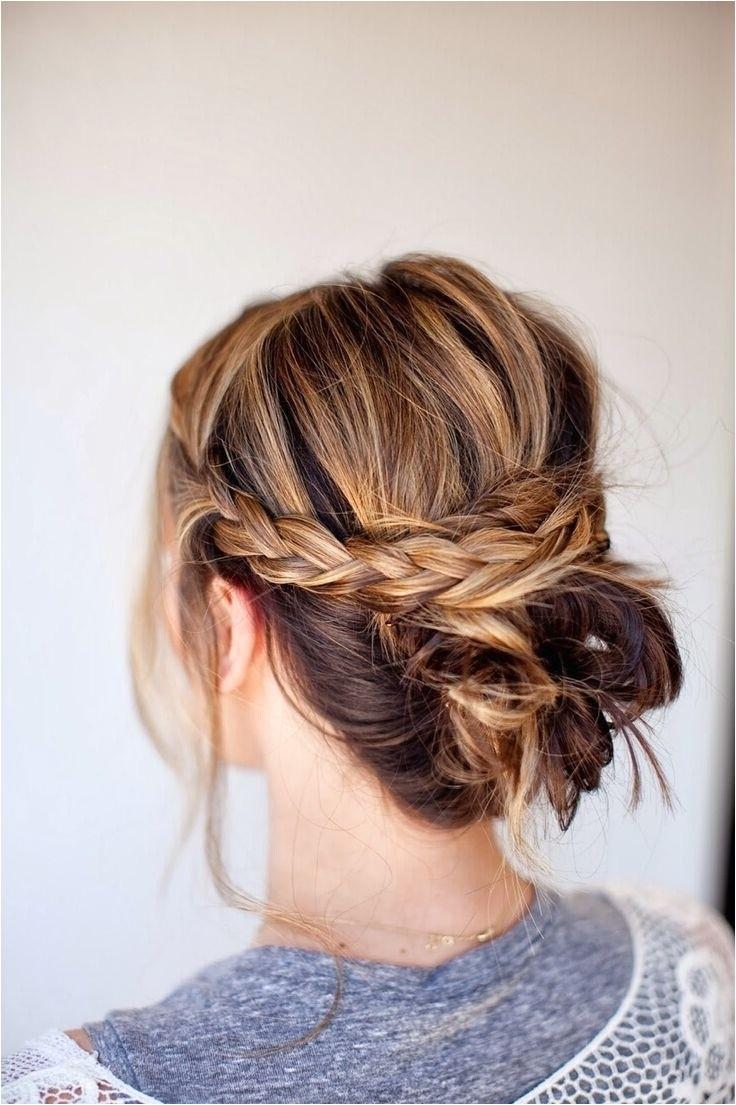 cute easy updo hairstyles