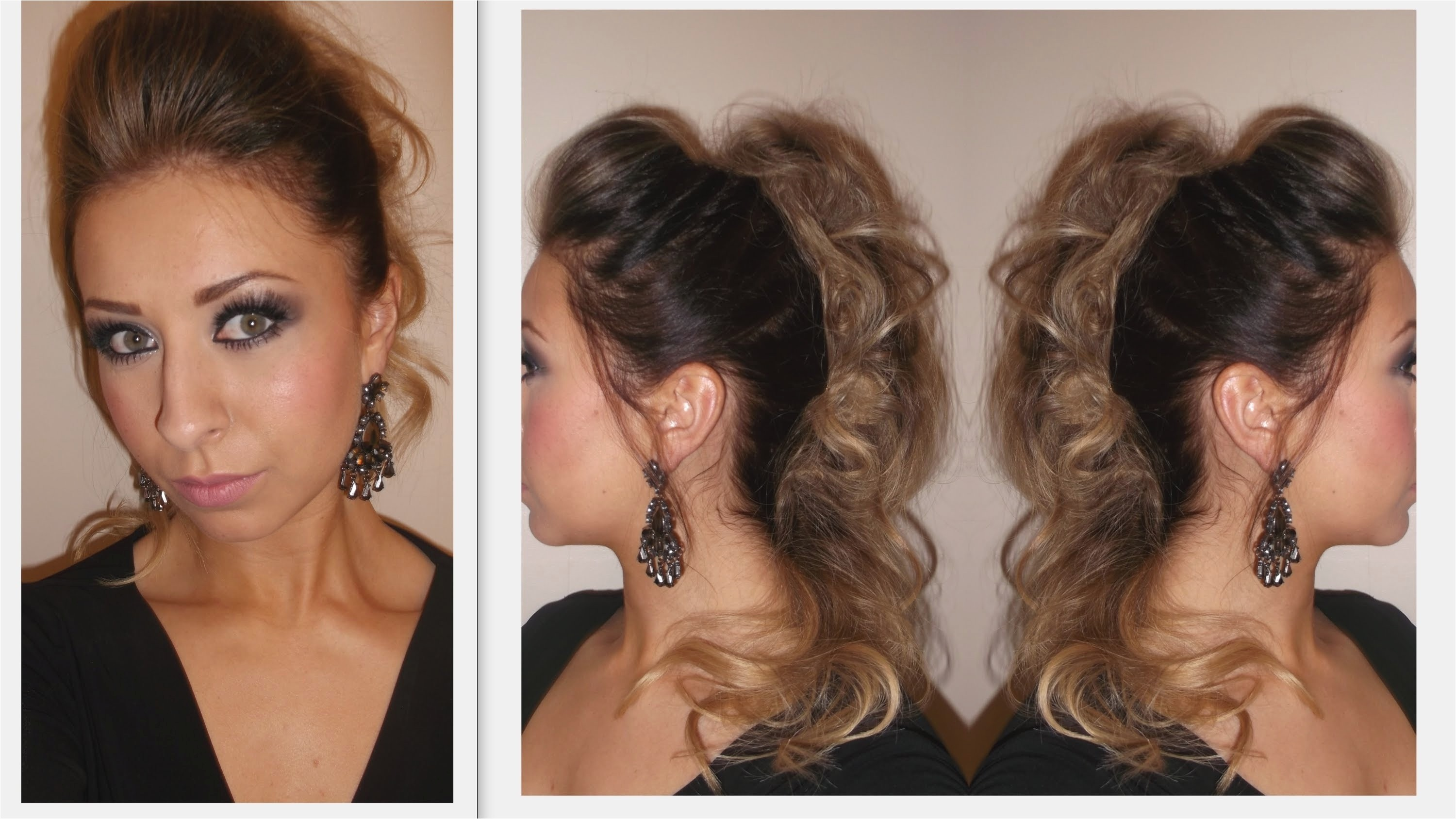 going out updo hairstyles