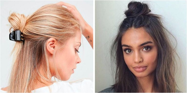 how to hide greasy hair
