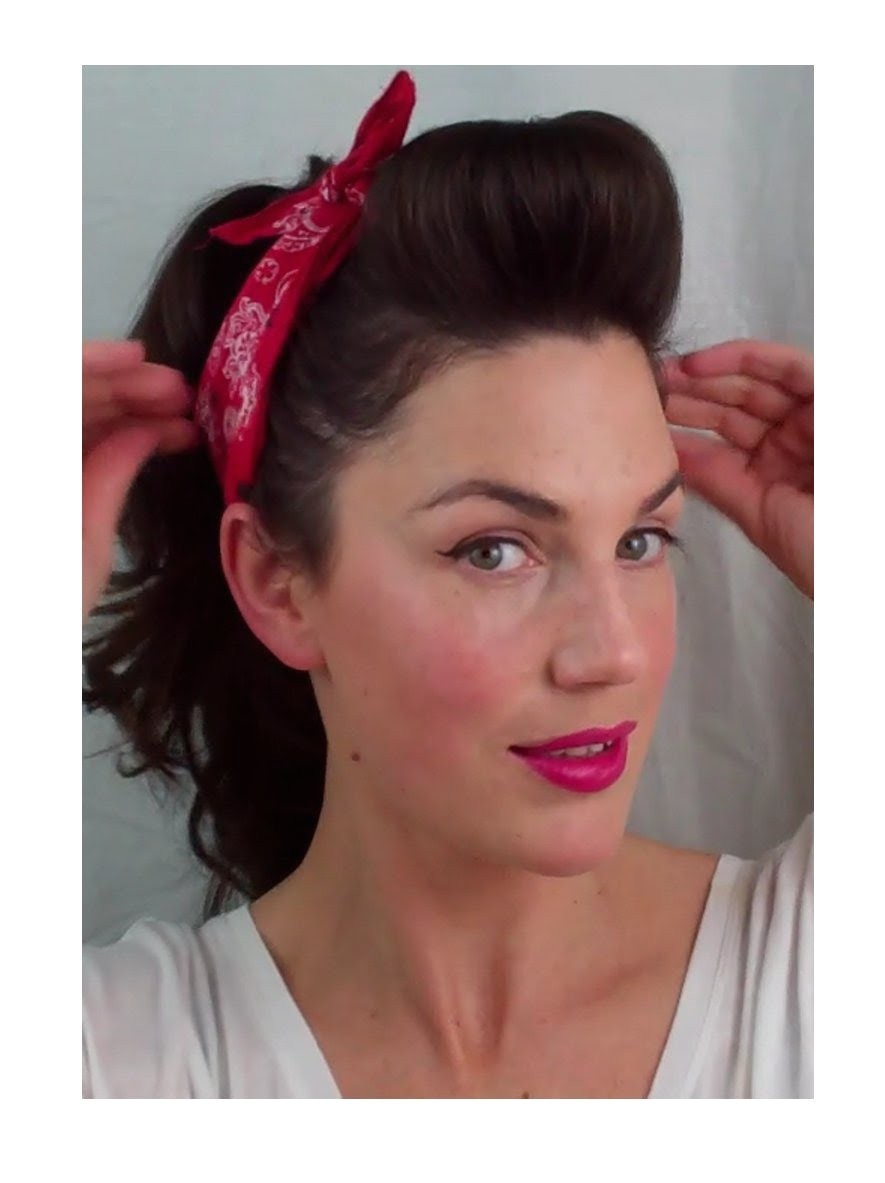 Quick Easy Pin Up Hairstyles 6 Pin Up Looks for Beginners Quick and Easy Vintage