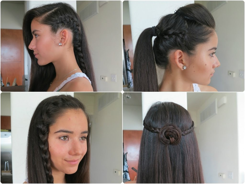 displaying images for easy braided hairstyles beginners 2