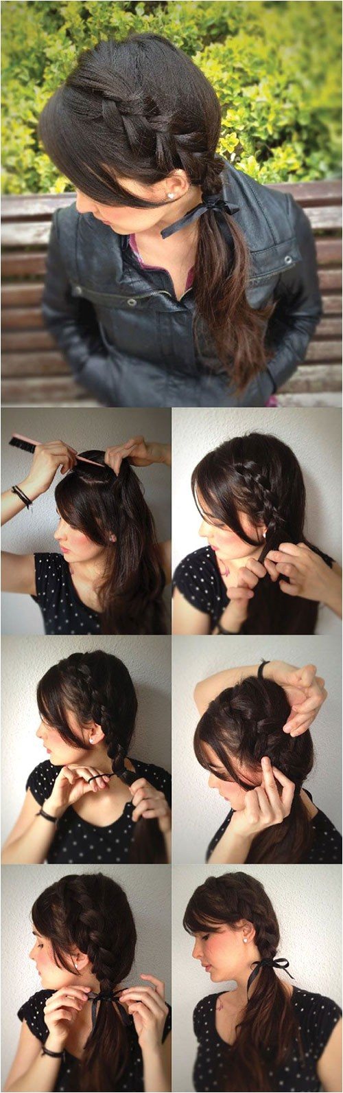 simple step by step winter hairstyle tutorials for beginners learners 2016