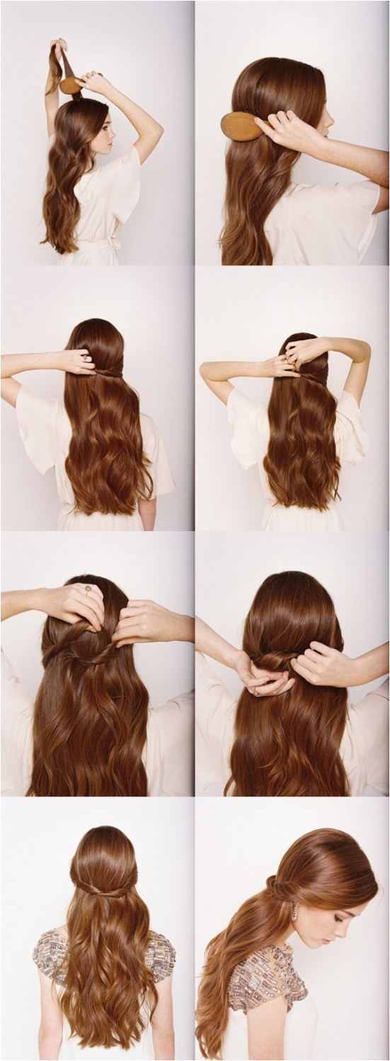 14 stunning easy diy hairstyles long hair hairstyle tutorials