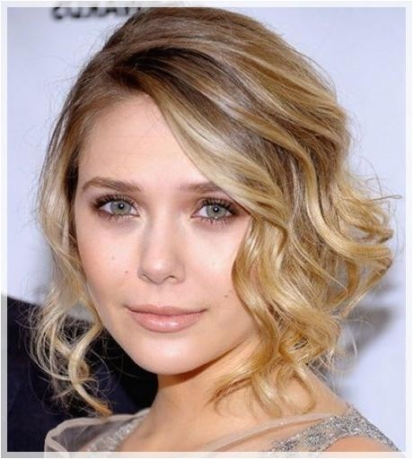 hairstyles for short hair wedding guest
