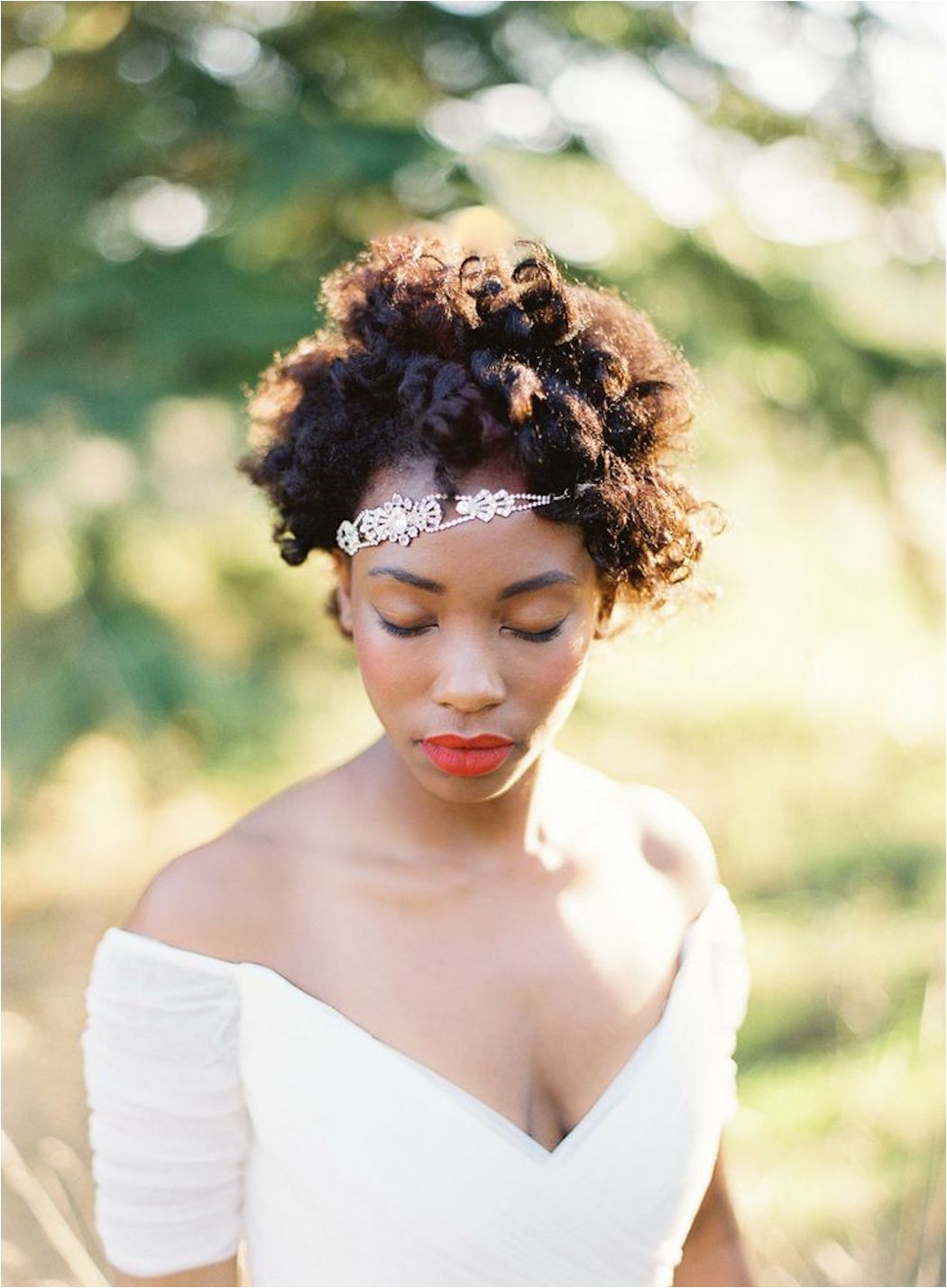 black women wedding afro hairstyles more 7229