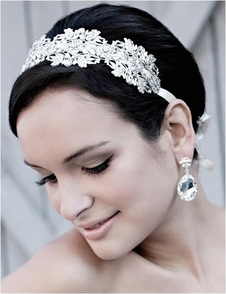wedding headbands for short hair