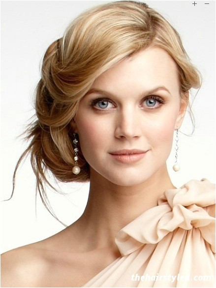 Side Swept Bun Hairstyles for Weddings Beautiful Side Swept Bun Hairstyles for Weddings Latest