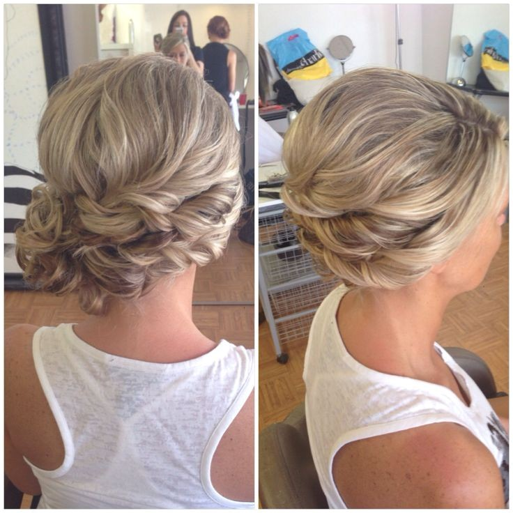 Side Swept Updo Hairstyles for Weddings 1