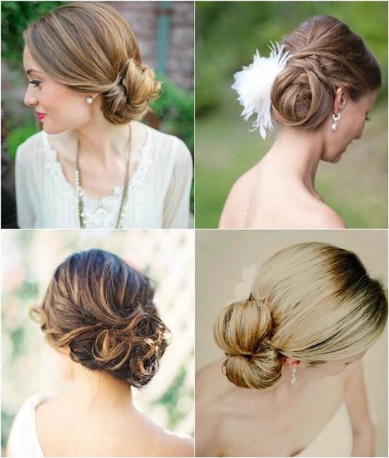 Side Swept Updo Hairstyles for Weddings Wedding Hairstyles Looks Wedding Updos 2015 Vpfashion
