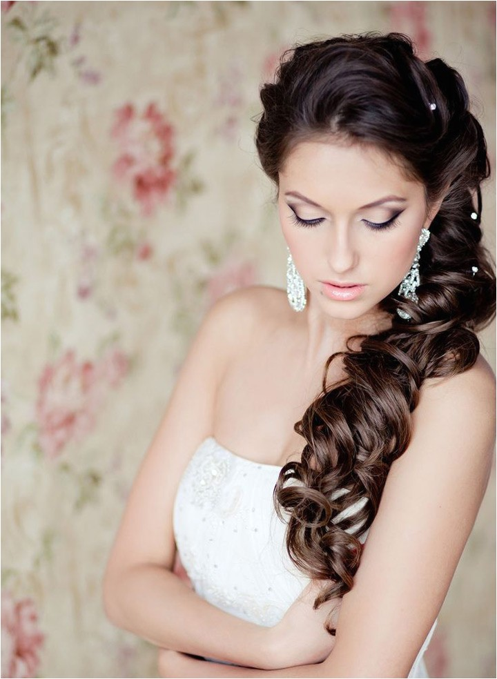 side swept wedding hairstyles to inspire