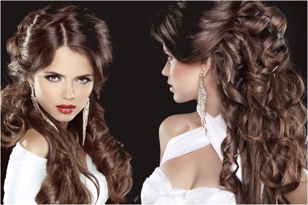 easy curly hairstyles for summer party 271