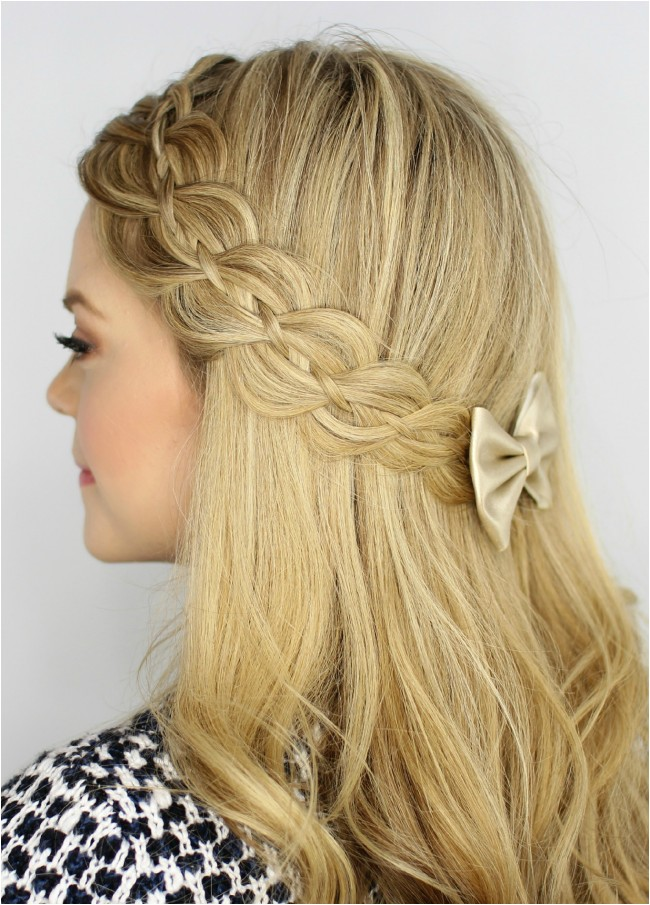elegant most fashionable birthday party hairstyles for girls