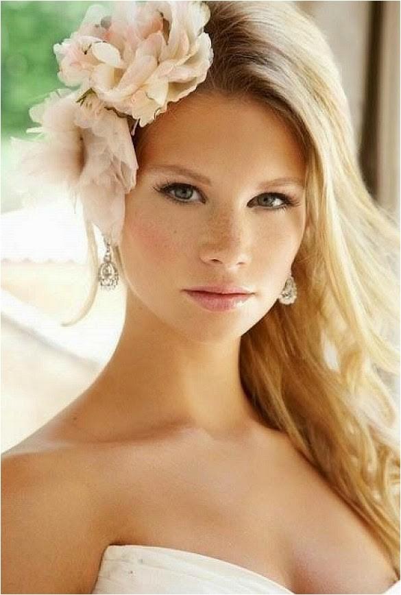 wedding hair flowers for short