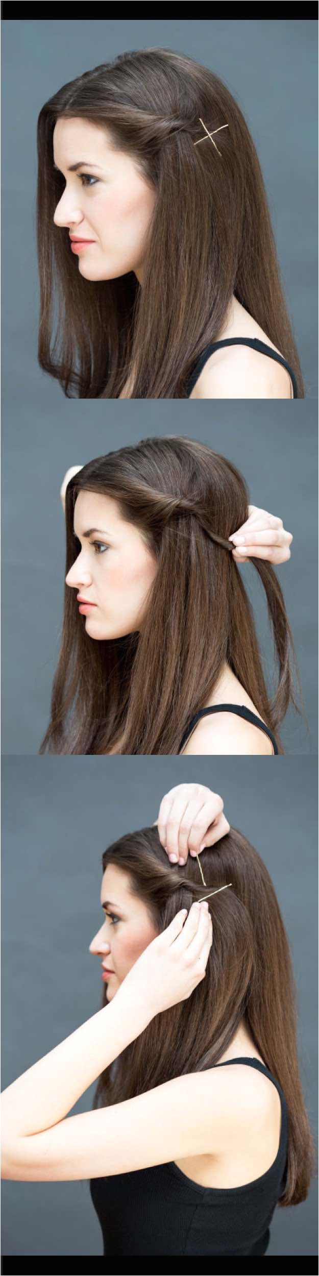 easy hairstyles straight hair