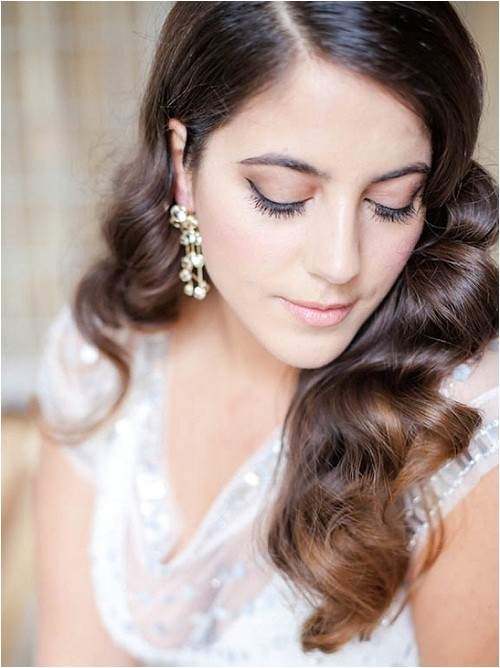 beautiful hairstyles for long hair wedding guest