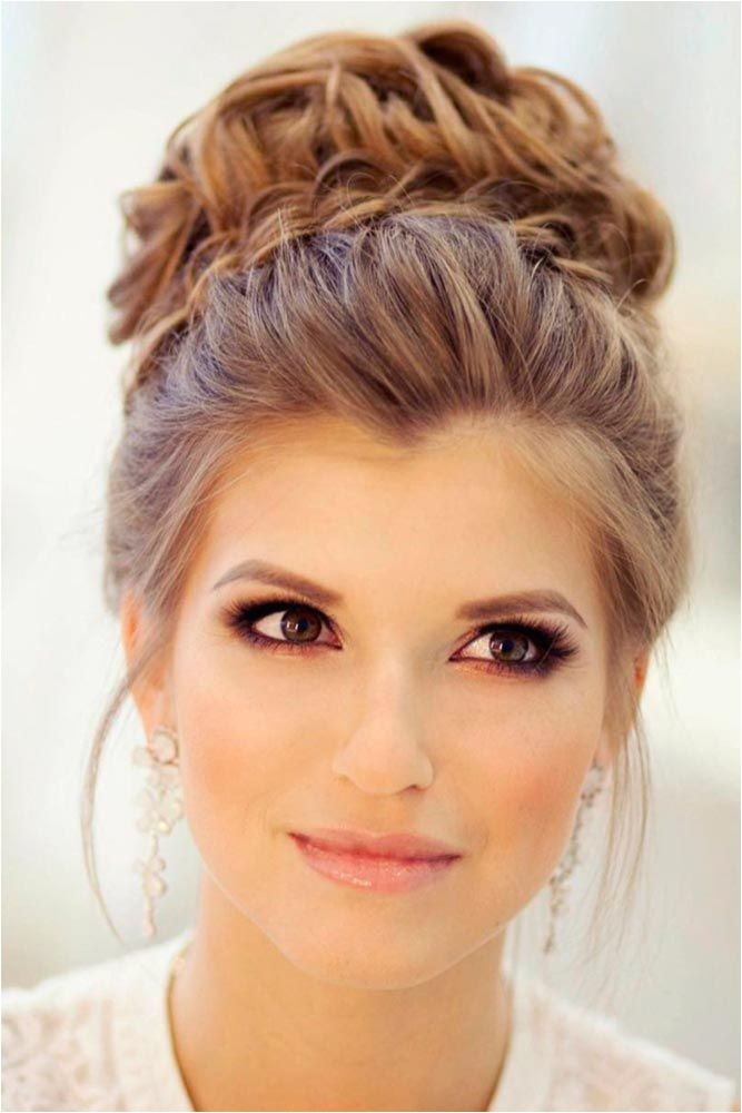 Simple Updo Hairstyles for Weddings 1