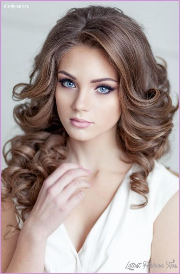 bridal hairstyles loose curls