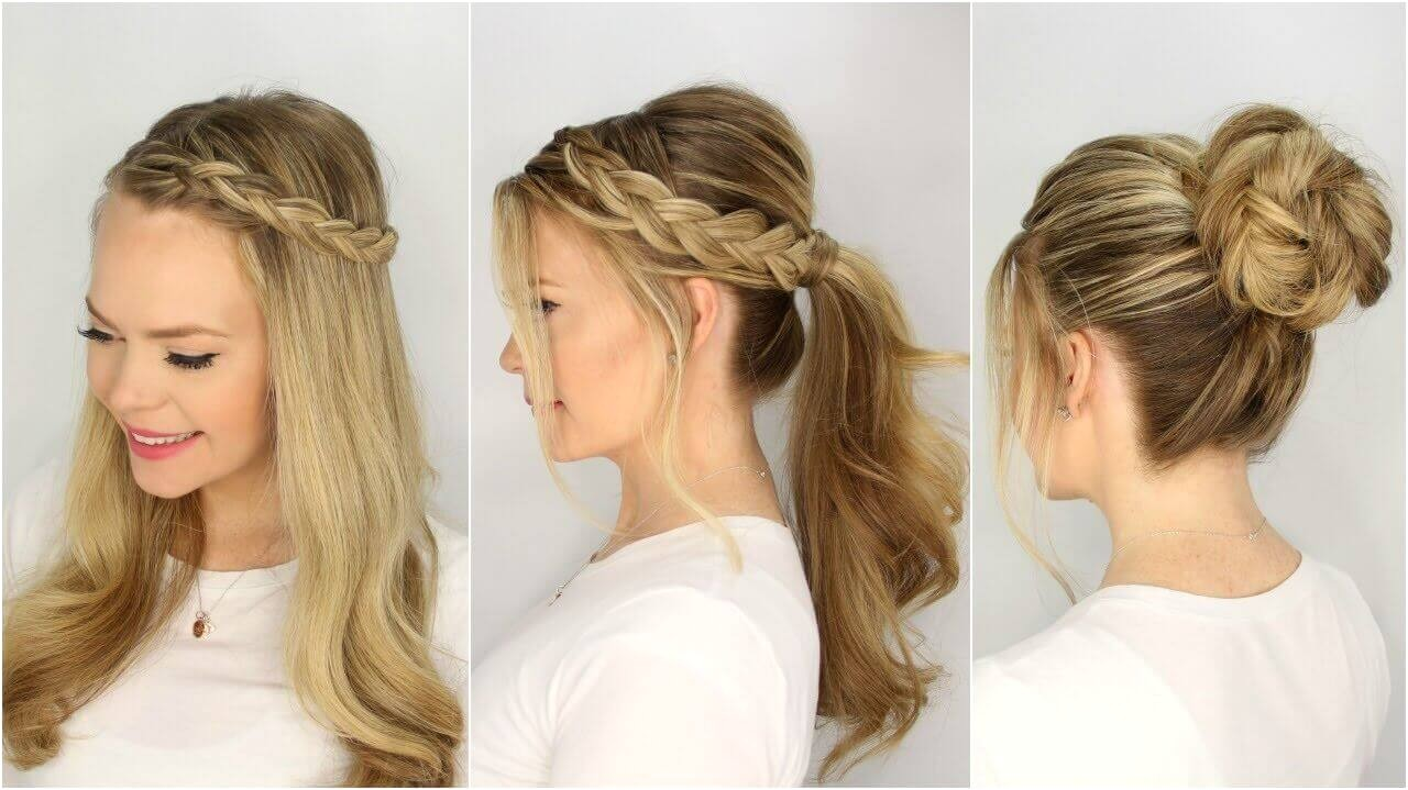 Some Easy and Beautiful Hairstyles Easy Beautiful Hairstyles