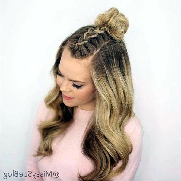 cute hairstyles for thin long hair