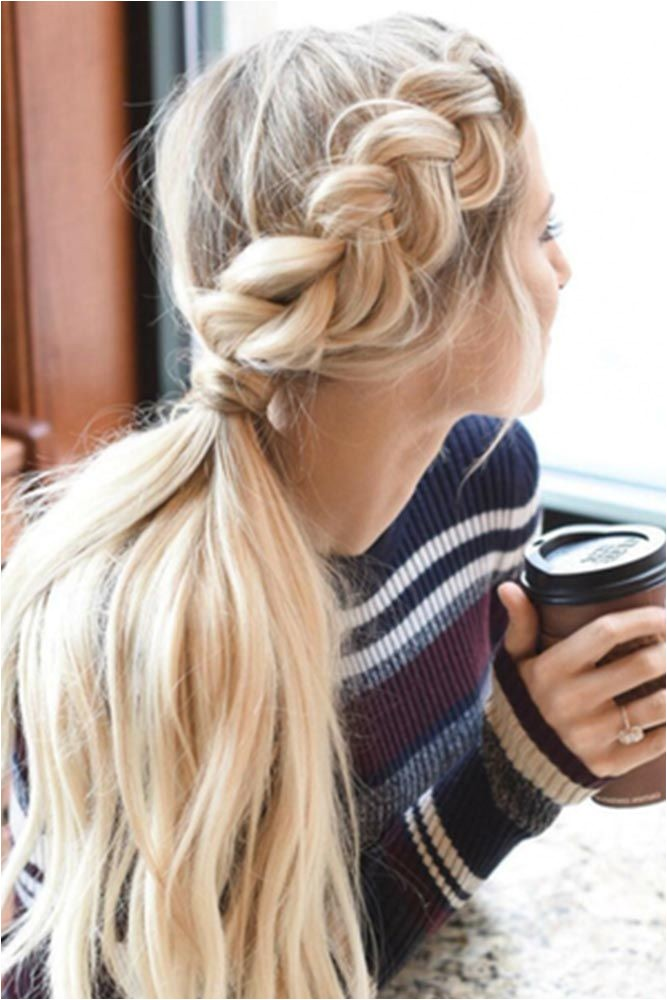 Some Quick Easy Hairstyles for Long Hair Best 25 Long Hair Ponytail Ideas Only On Pinterest