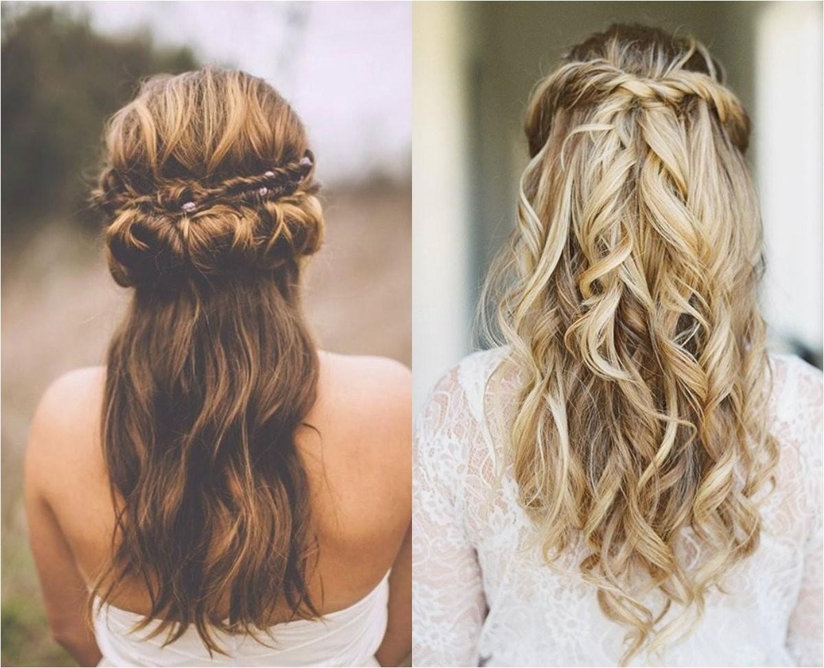wedding hair down boho