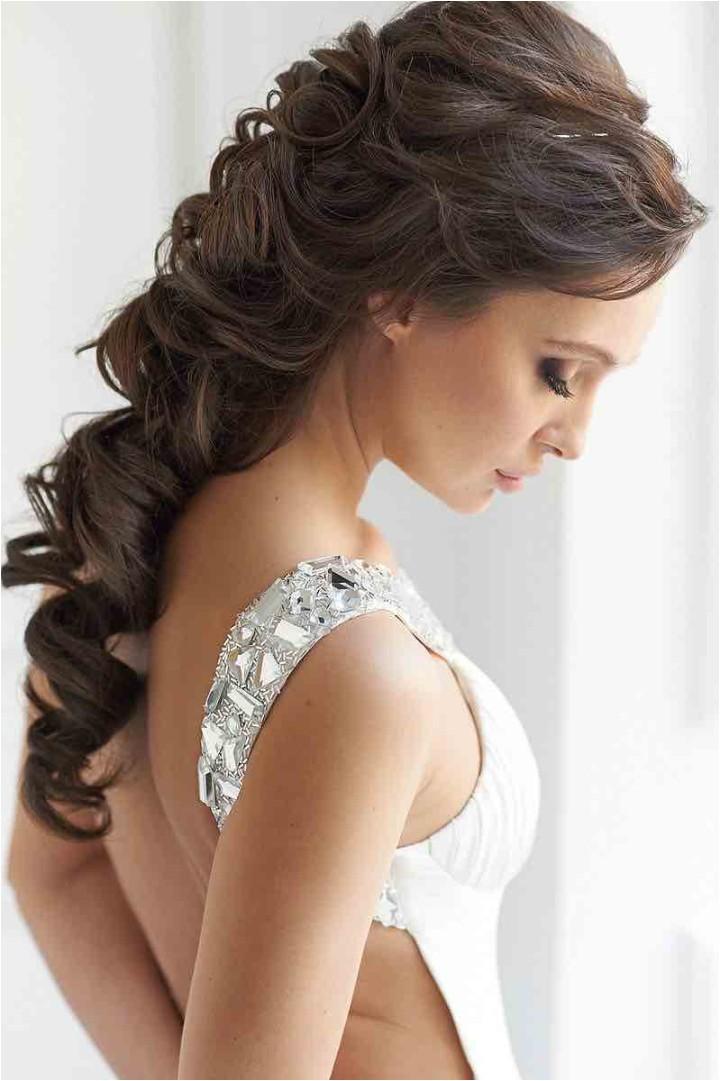 21 classy and elegant wedding hairstyles