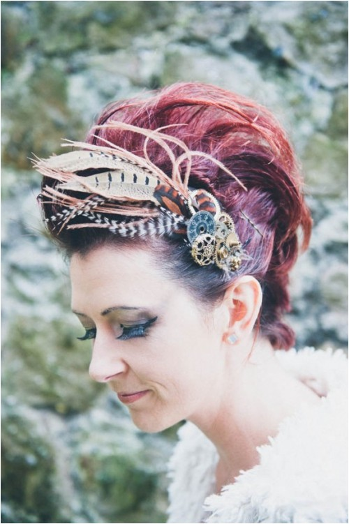 diy steampunk hair b for a wedding and not only