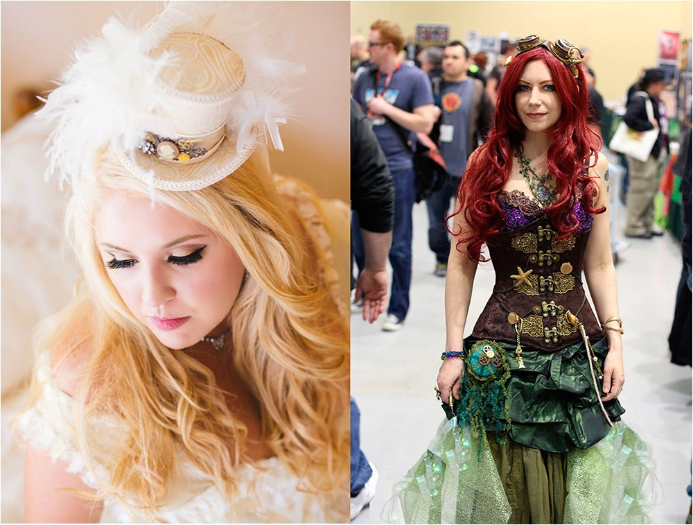 wedding hairstyles 2017 steampunk hairstyles