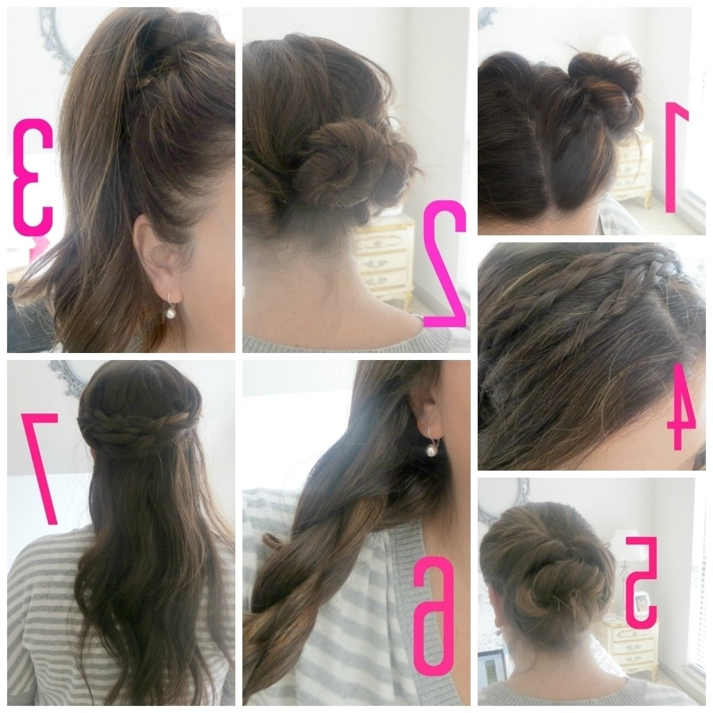 easy indian hairstyles for medium hair step by