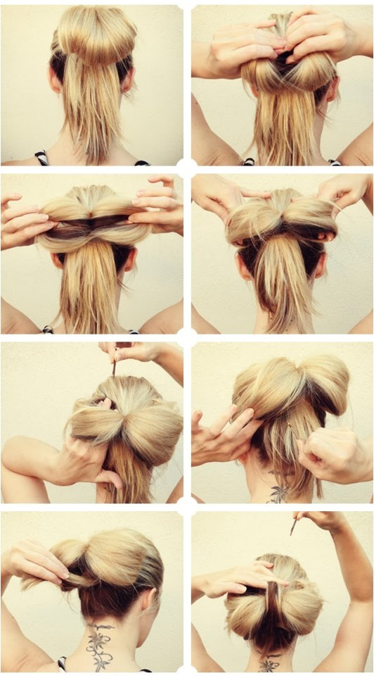 16 ways make adorable bow hairstyle