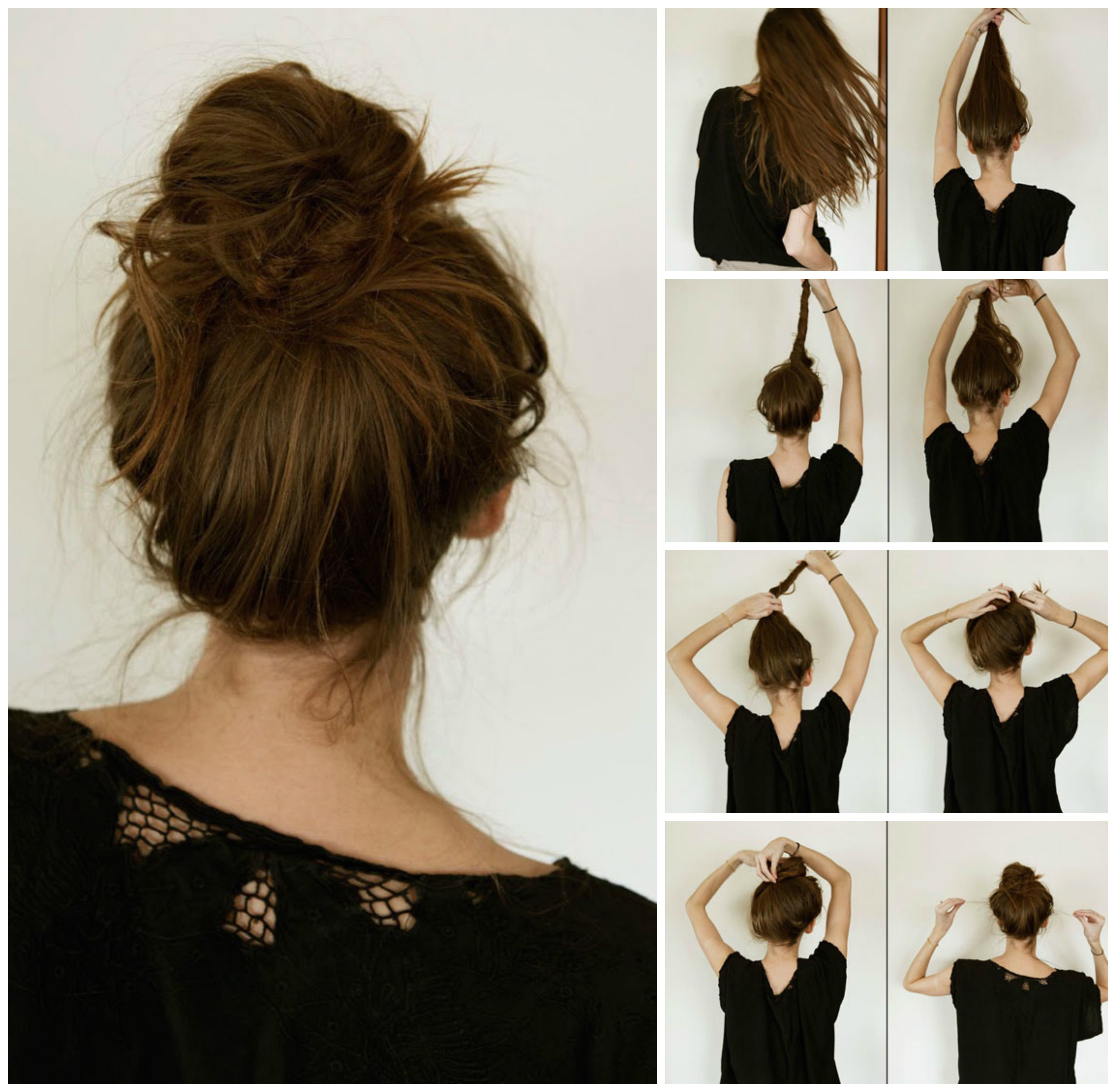 Steps to Make Easy Hairstyles Easy Step by Step Hairstyles Do by Own at Any Time