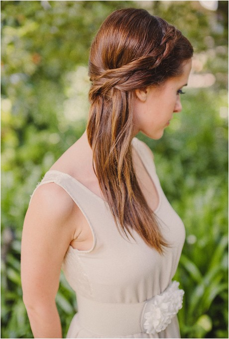 Straight Hairstyles for Weddings 1