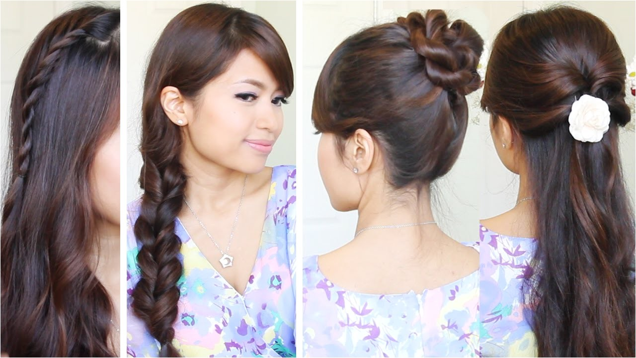 super cute hairstyles for back to school
