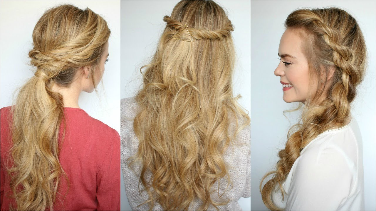 super easy hairstyling tips ideas beginners