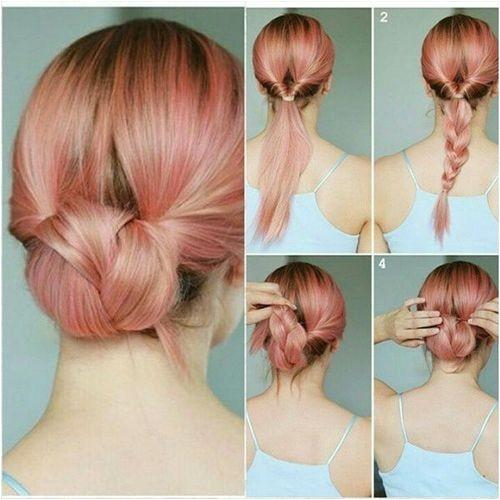 Super Easy Hairstyles for Medium Length Hair 60 Easy Updos for Medium Length Hair