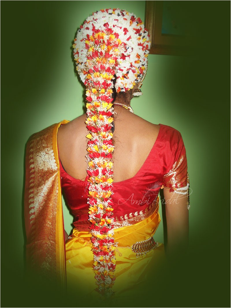 tamil nadu bridal hairstyles pictures