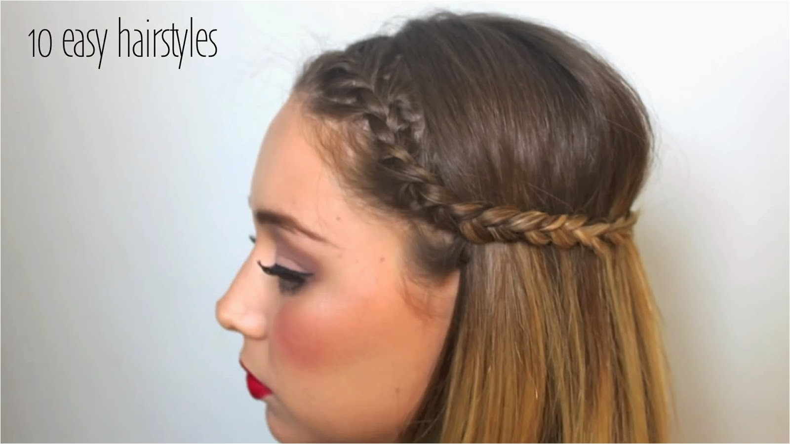 top 10 easy hairstyles can set in 5